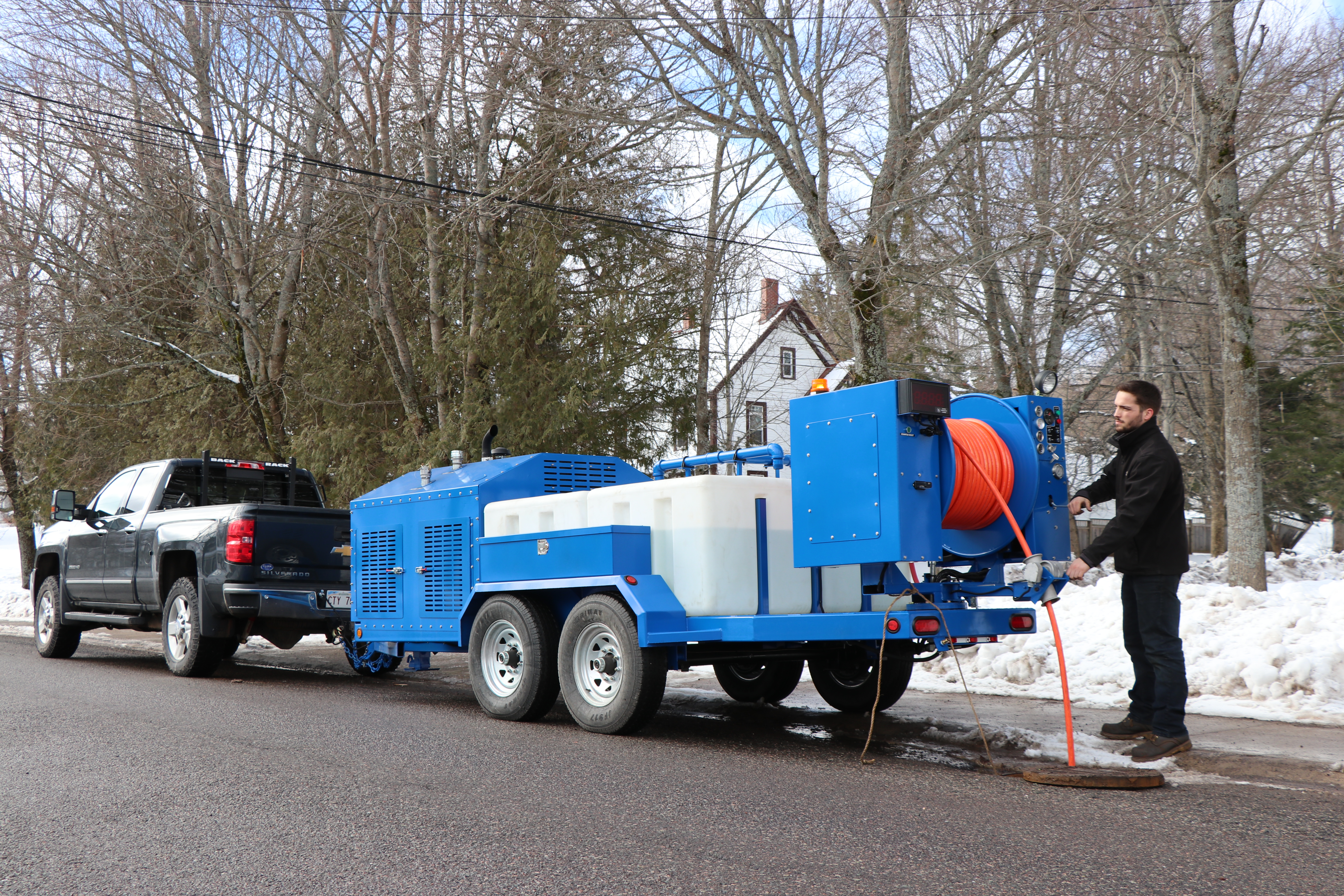 Open & Jetter Trailers - Powerjet Pressure Cleaning Systems